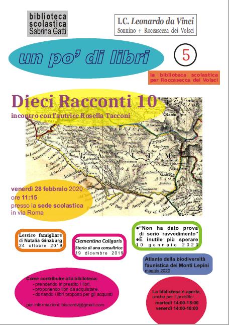 Roccasecca dei Volsci: Un po' di libri @ Biblioteca scolastica  | Roccasecca dei Volsci | Lazio | Italia
