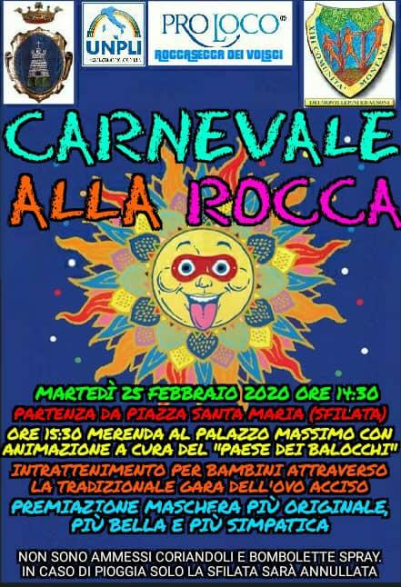 Roccasecca dei Volsci: Carnevale 2020 @ Roccasecca dei Volsci | Roccasecca dei Volsci | Lazio | Italia