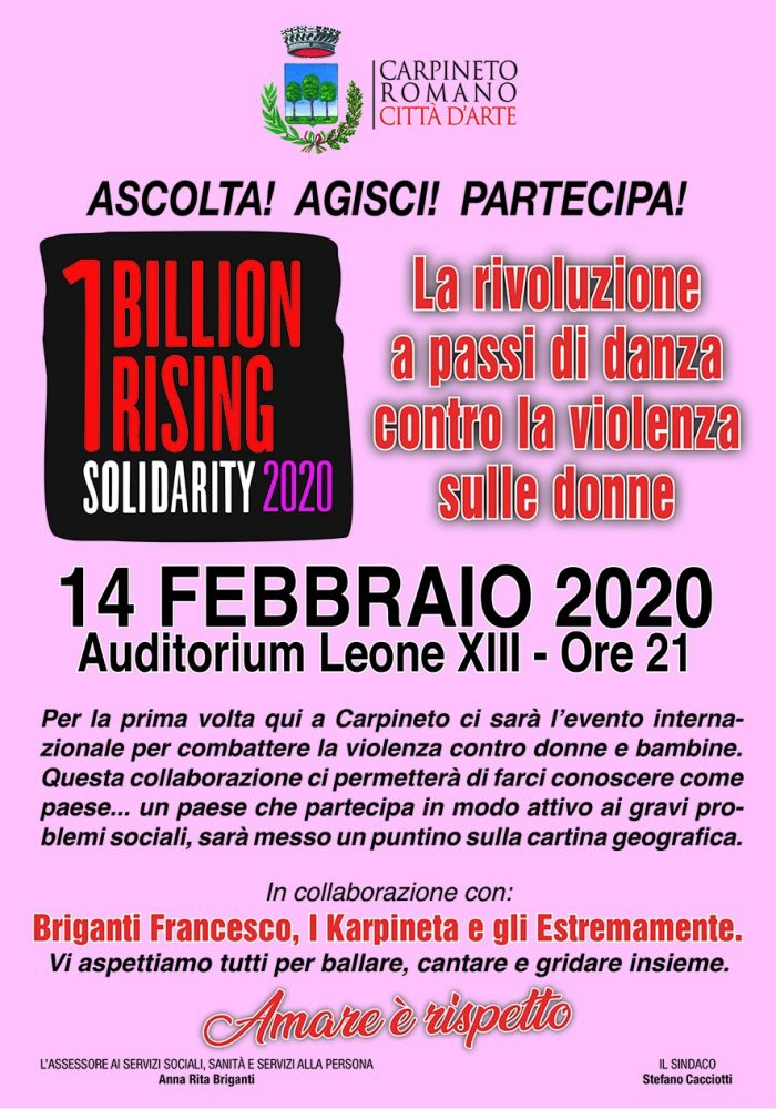 Carpineto Romano: La rivoluzione a passi di danza contro la violenza sulle donne @ Auditorium Leone XIII | Carpineto Romano | Lazio | Italia
