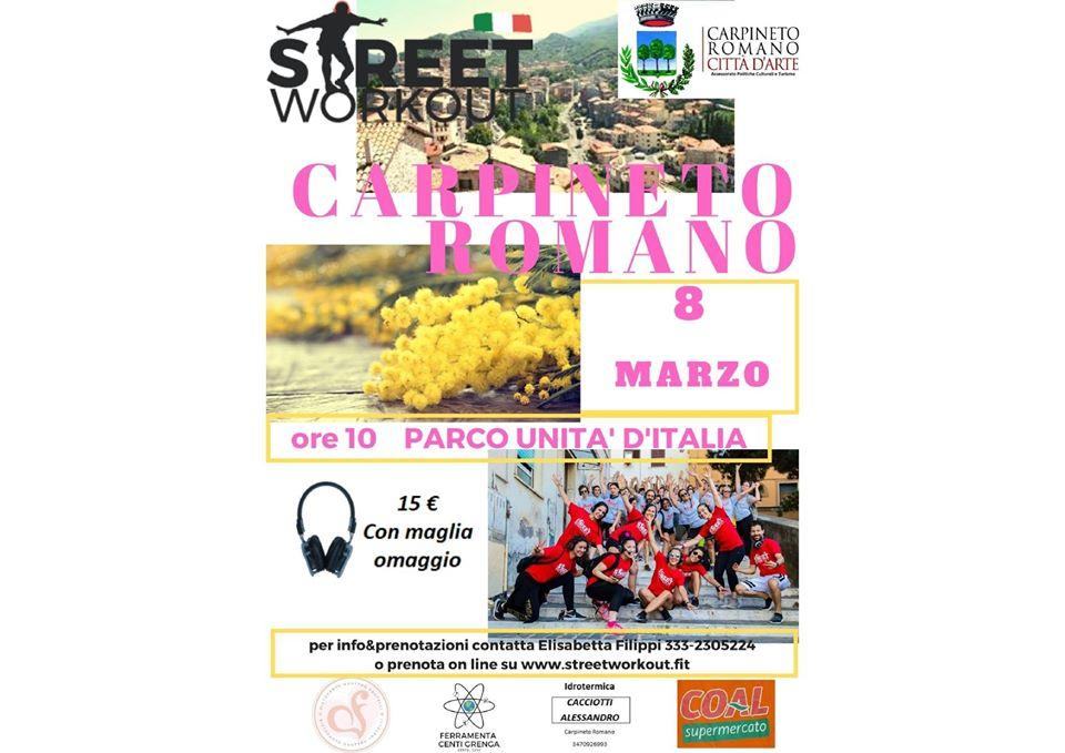 Carpineto Romano: Street Workout @ Parco Unità d'Italia   Carpineto Romano   Lazio   Italia