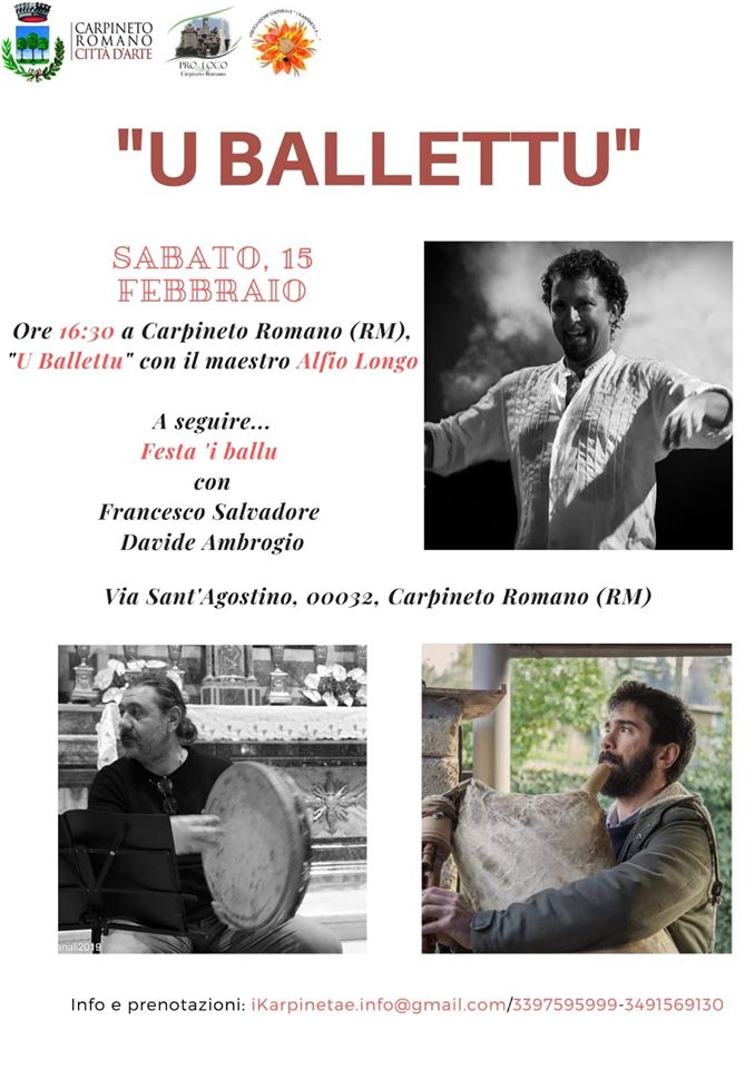 "Carpineto Romano: ""u ballettu"" @ Carpineto Romano | Carpineto Romano | Lazio | Italia"
