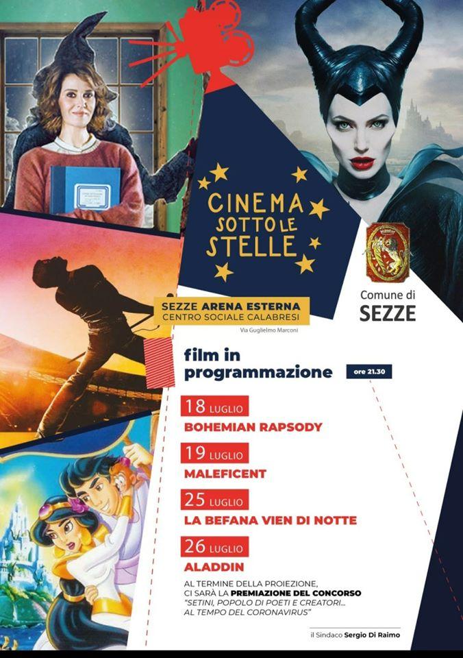 Sezze: Cinema sotto le stelle @ Sezze