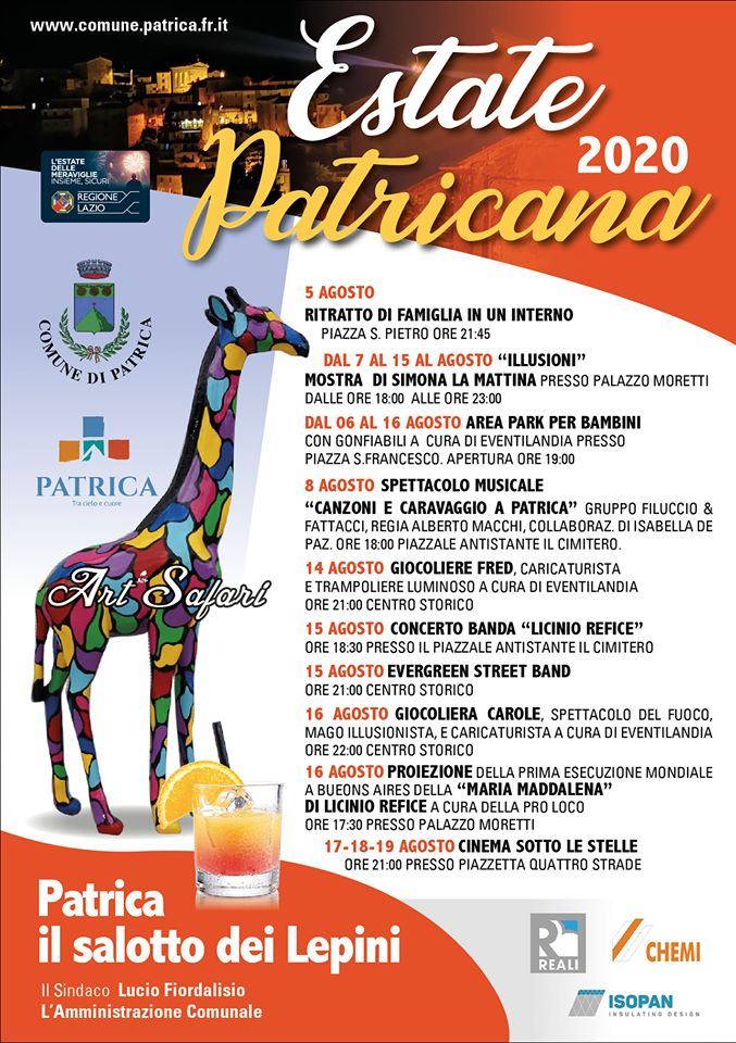 Patrica: Estate 2020 @ Patrica