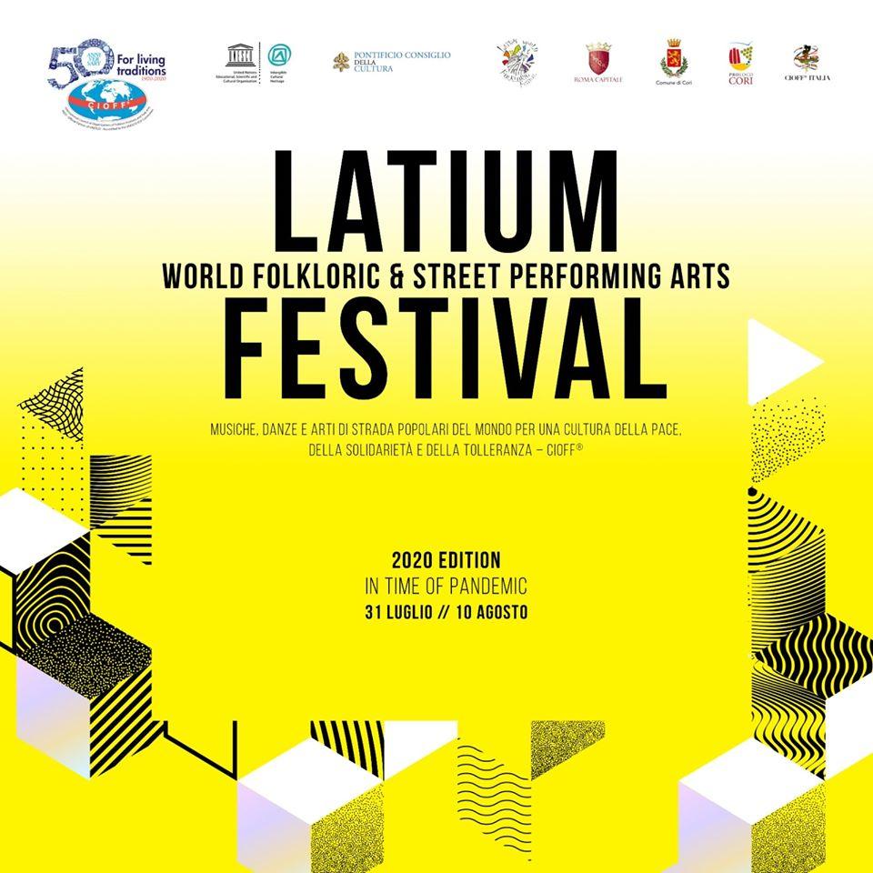Cori: Latium world fockloric & street performing arts festival @ Piazza Tempio D'Ercole