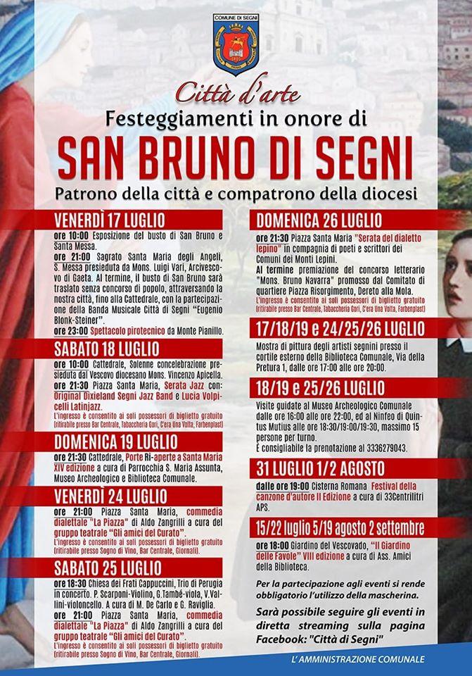 San Bruno di Segni - 2020 @ Segni