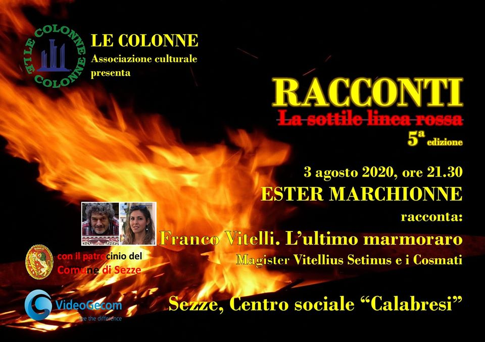 Sezze:RACCONTI, la sottile linea rossa @ Sezze, Centro sociale Calabresi