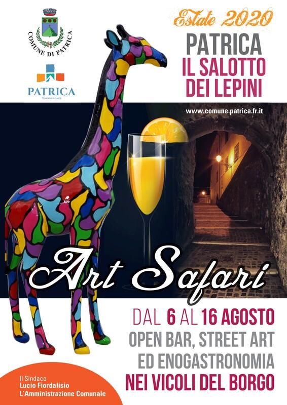 locandina-art-safari-patrica-2020