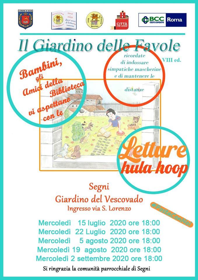 Segni: Il Giardino delle Favole VIII edizione @ Segni