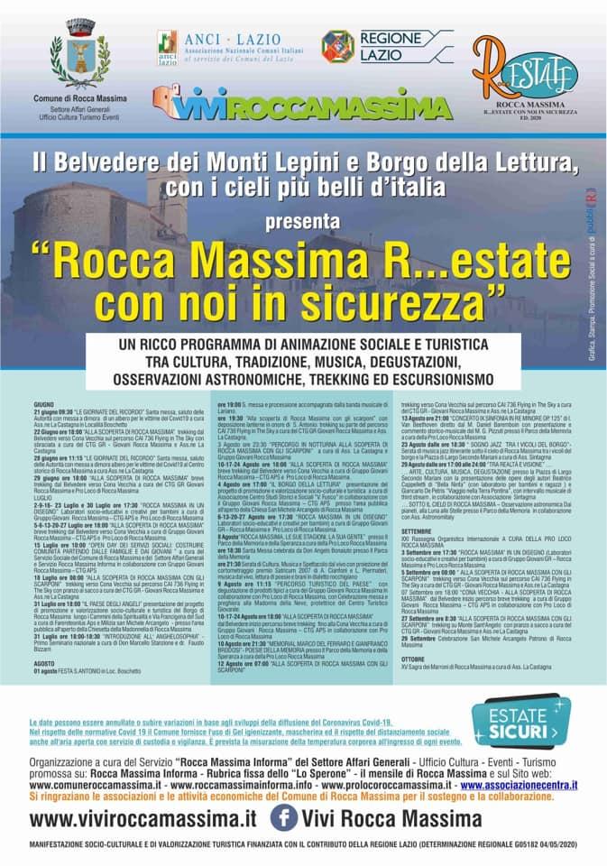 ROCCA MASSIMA R...ESTATE CON NOI IN SICUREZZA @ ROCCA MASSIMA