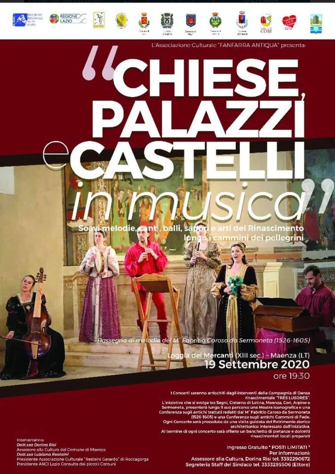 MAENZA: CHIESE, PALAZZI E CASTELLI IN MUSICA @ MAENZA