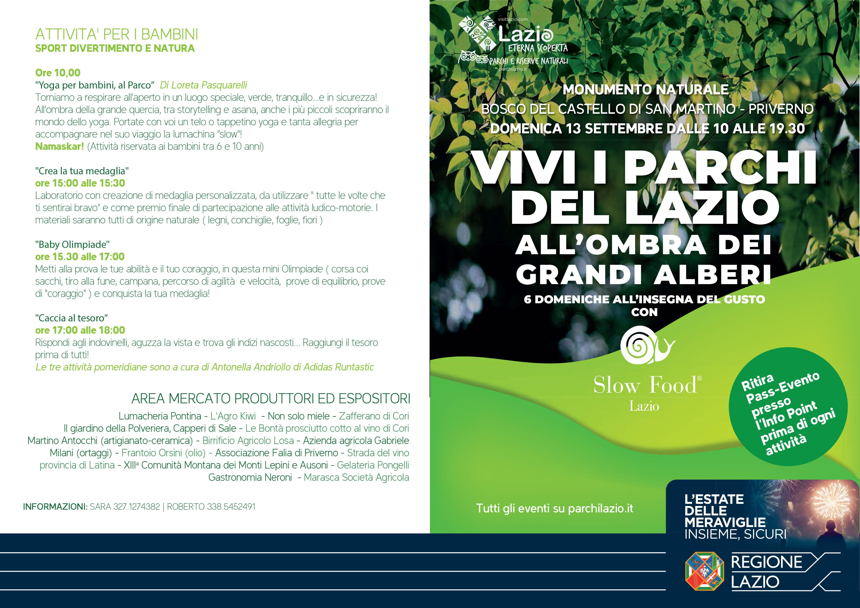 Priverno: Vivi i parchi del Lazio @ Priverno