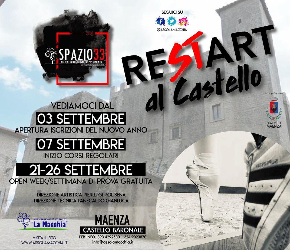 MAENZA: RESTART AL CASTELLO @ MAENZA