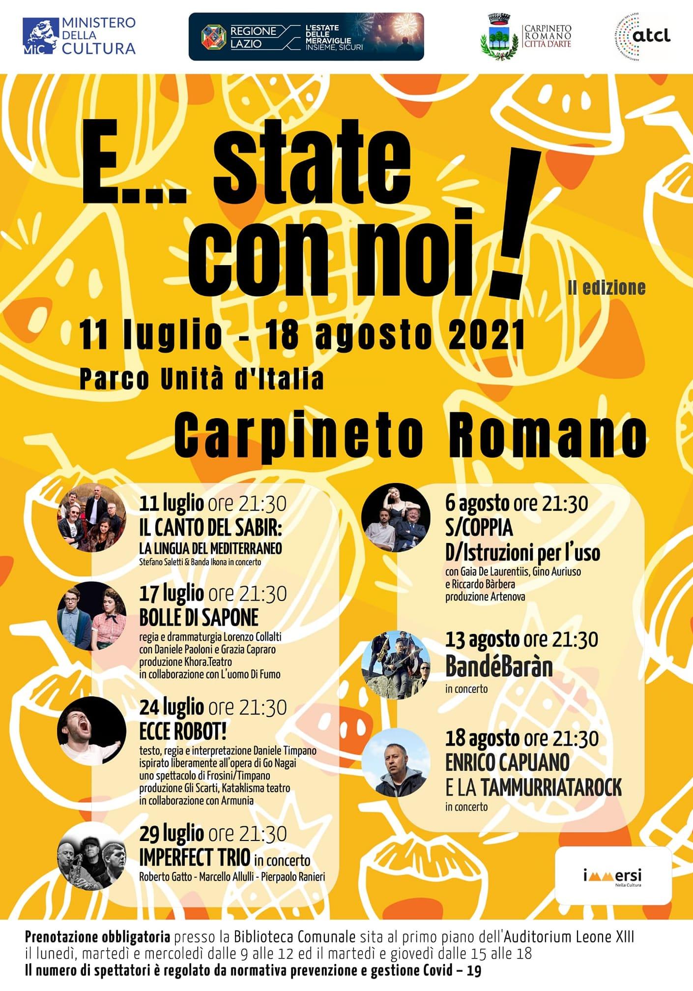 Carpineto Romano - E...state con noi! @ Carpineto Romano