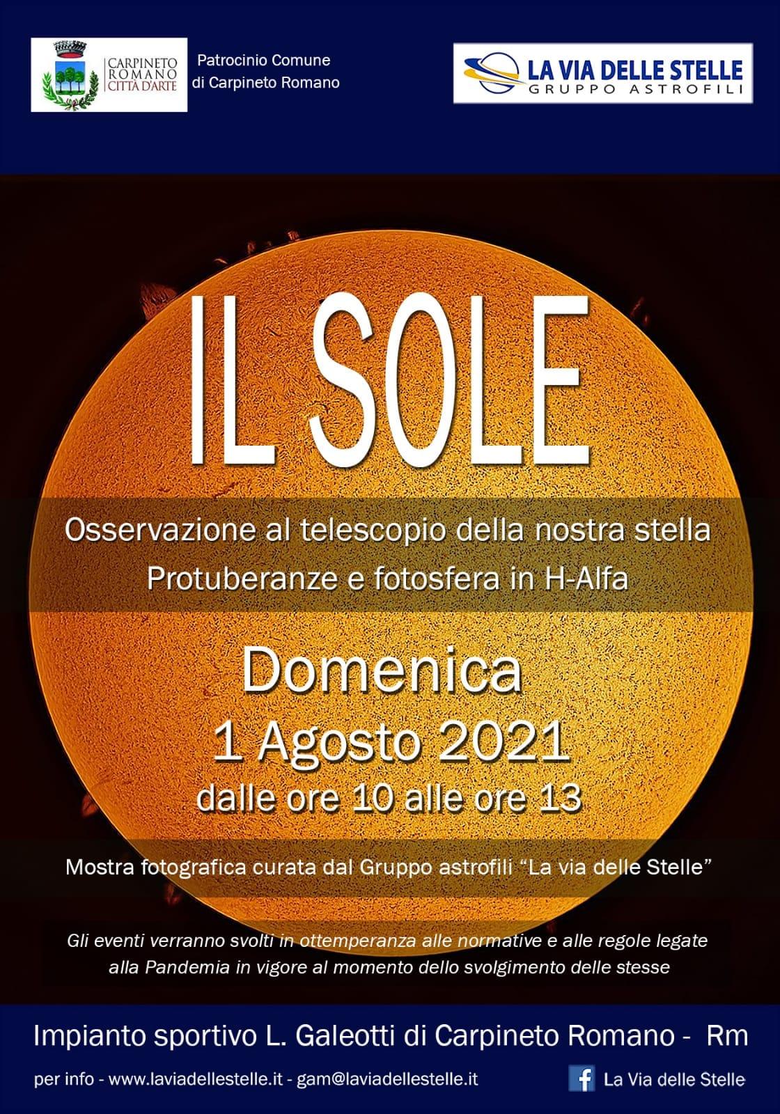 Carpineto Romano - Il Sole @ Carpineto Romano