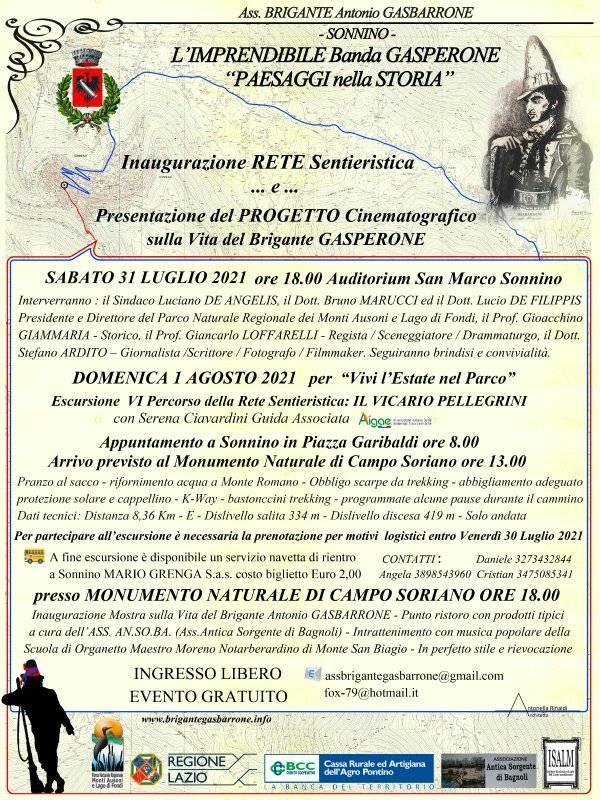 """Sonnino: """"Paesaggi nella Storia"""" @ Auditorium San Marco Sonnino"""