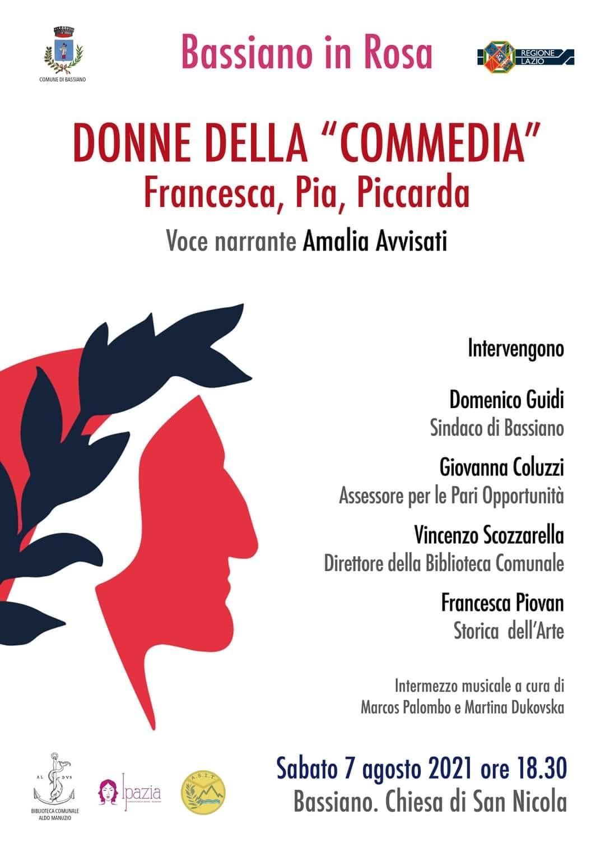 """Bassiano: Donne della """"Commedia"""" @ Bassiano"""