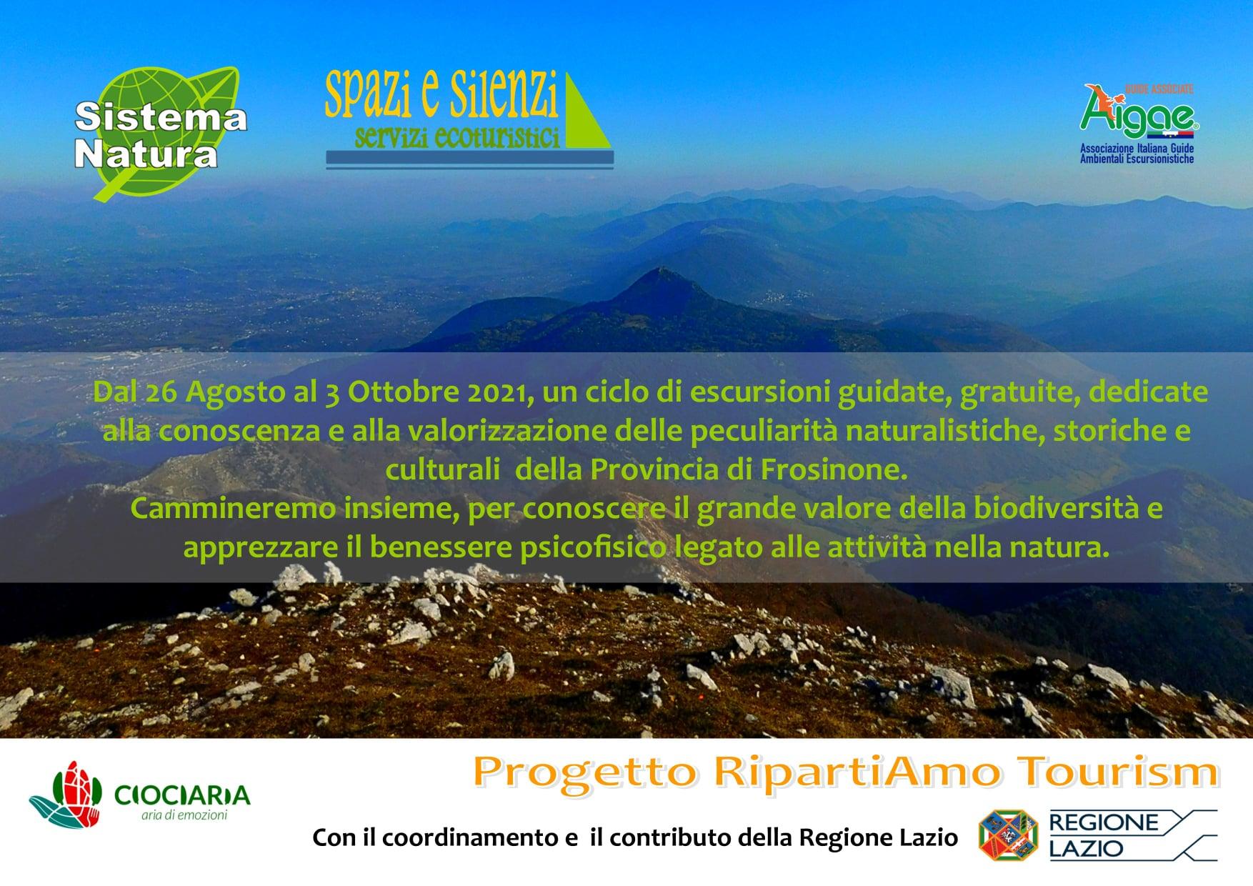 Sistema Natura: Escursioni guidate sui Lepini @ Monti Lepini
