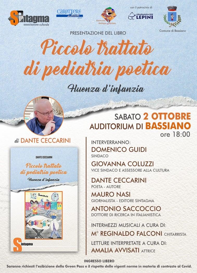 Bassiano: Piccolo Trattato di Pediatria Poetica @ Bassiano