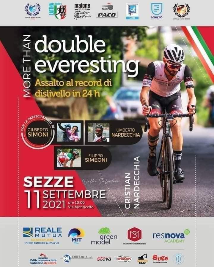 Sezze: Double everesting @ Sezze