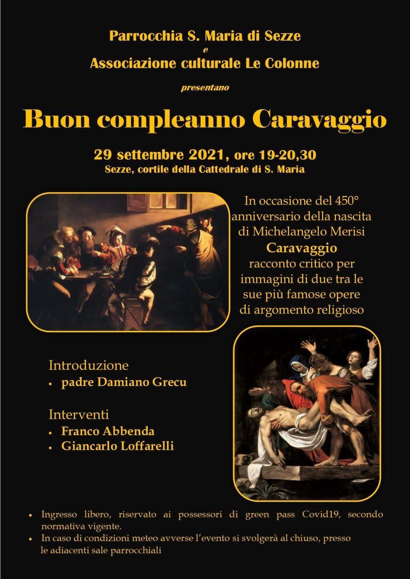 Sezze: Buon Compleanno Caravaggio @ Sezze