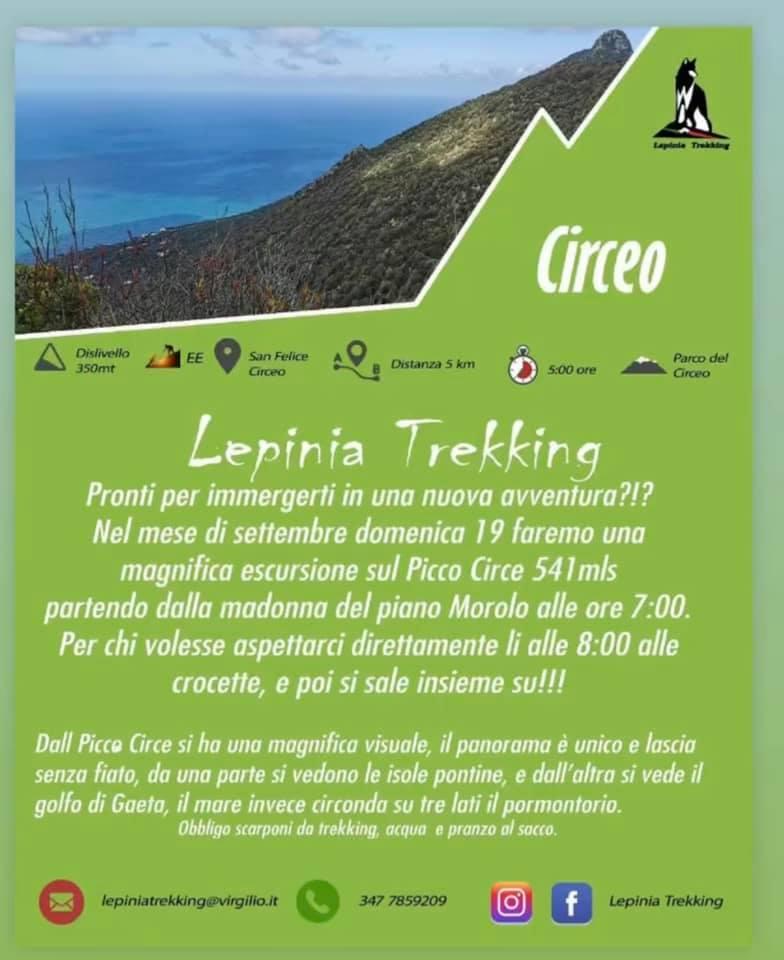 Lepinia Trekking: Circeo @ Circeo