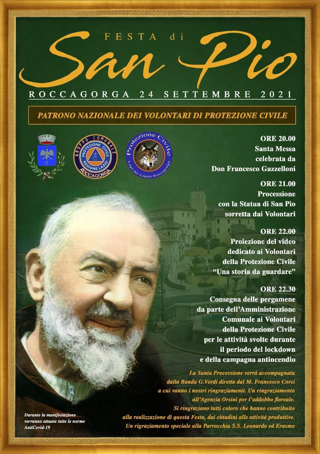 Roccagorga: Festa di Pio @ Roccagorga