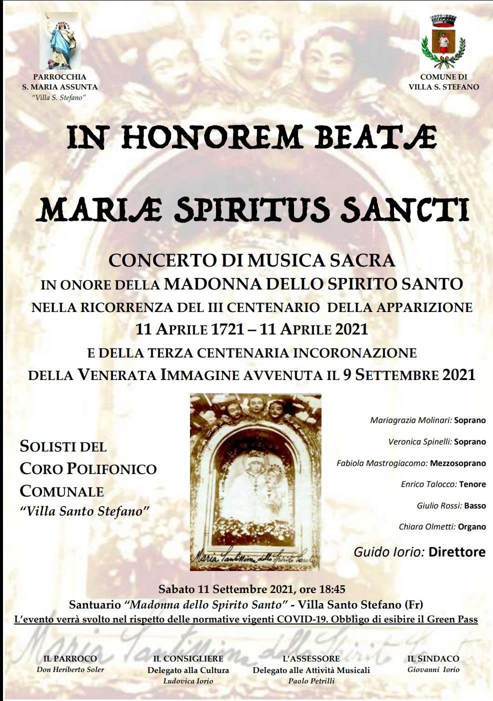 Villa Santo Stefano: Ripercorrendo e ricordando la storia del Santuario @ Villa Santo Stefano