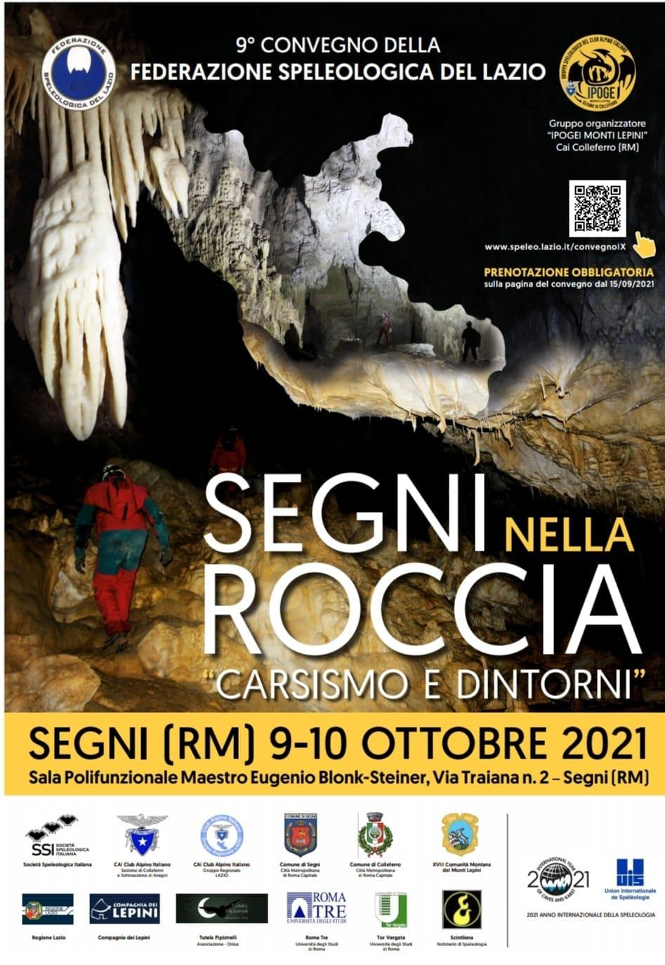 """Segni nella roccia - """"Carsismo e dintorni"""" @ Sala Polifunzionale Maestro Eugenio Blonk-Steiner"""