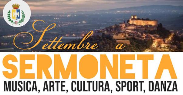 Sermoneta: musica, arte, cultura, sport, danza @ Sermoneta