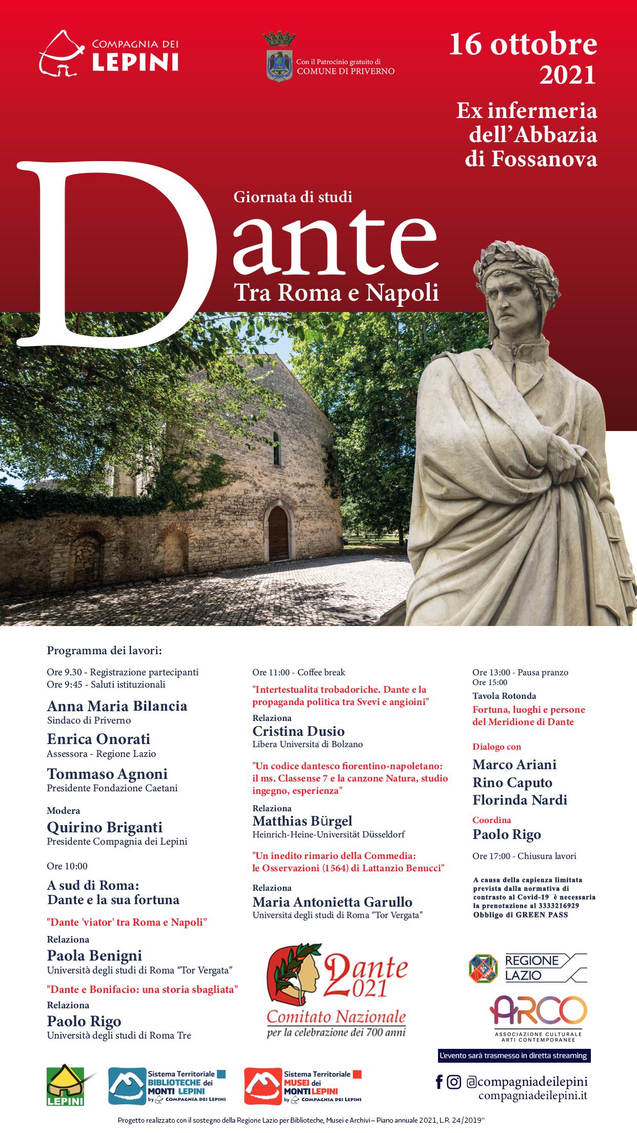 Fossanova: Dante tra Roma e Napoli @ Fossanova
