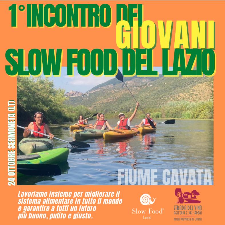 Weekend Slow Food Latina 24 OTTOBRE 2021 @ Fiume Cavata