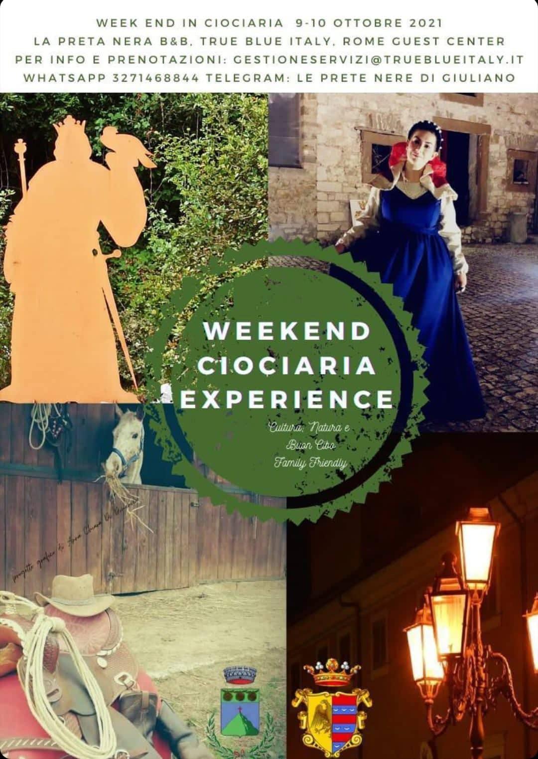 Weekend Ciociaria Experience @ Patrica