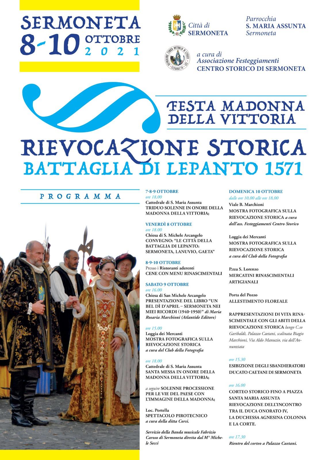 Sermoneta: Rievocazione storica- Battaglia di Lepanto 1571 @ Sermoneta