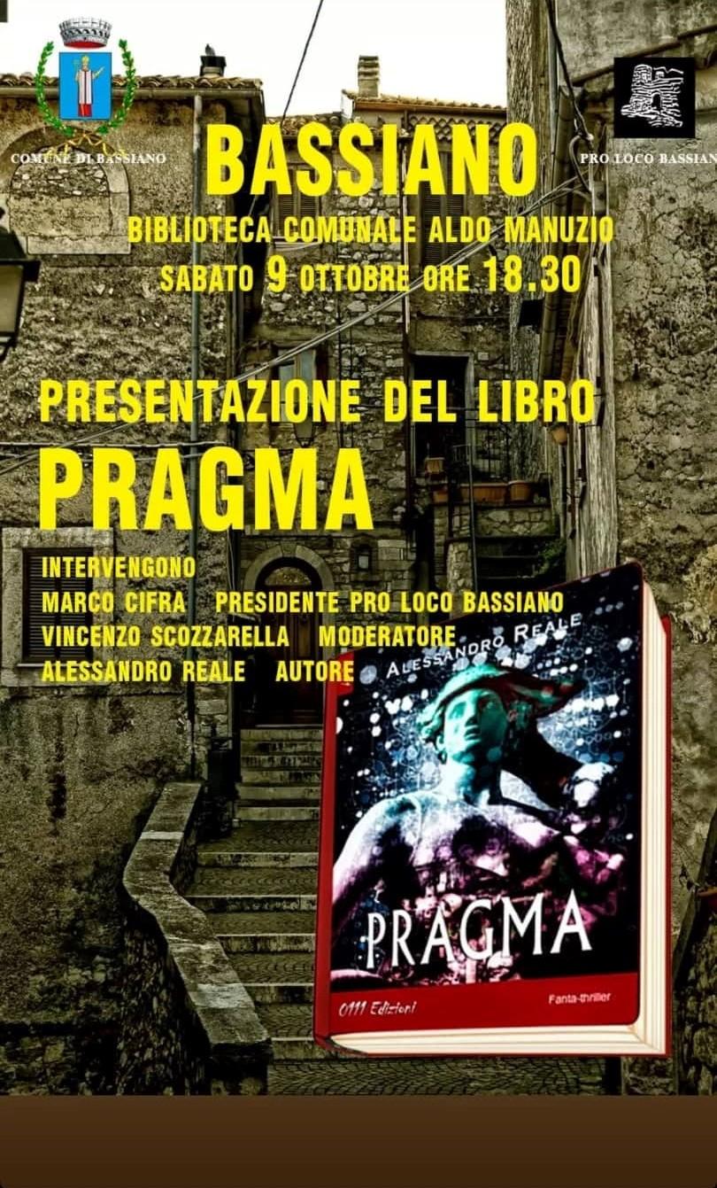 Bassiano: Presentazione del libro Pragma @ bassiano