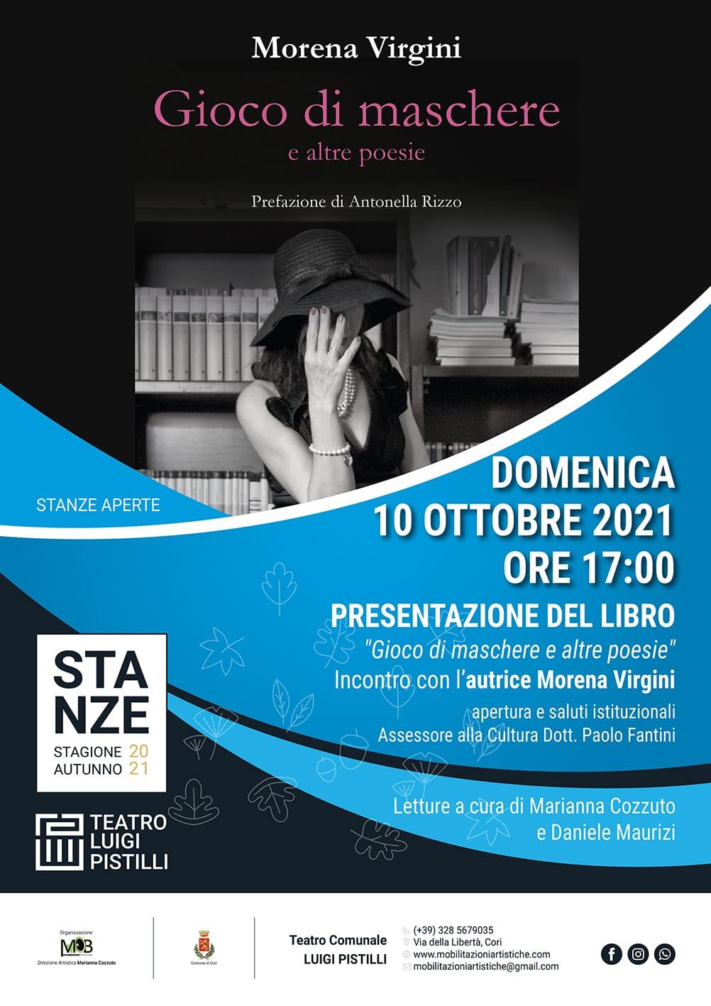 """Cori: """"Gioco di maschere e altre poesie"""" @ Teatro Comunale """"Luigi Pistilli"""""""