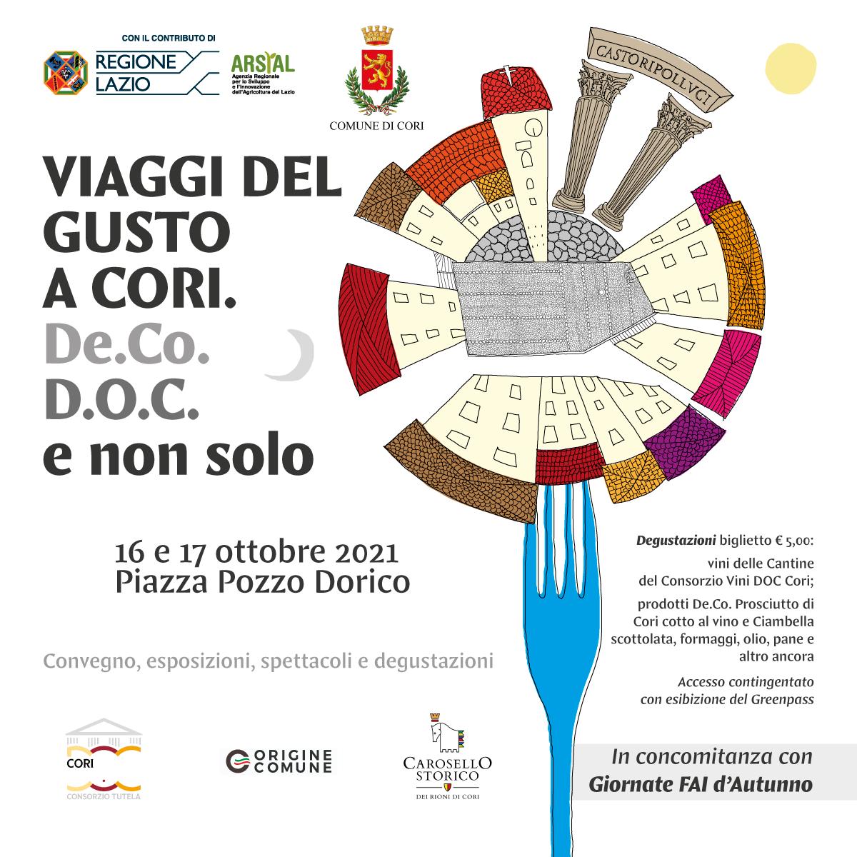 Cori: Viaggi del gusto a Cori... e non solo @ Piazza Pozzo Dorico