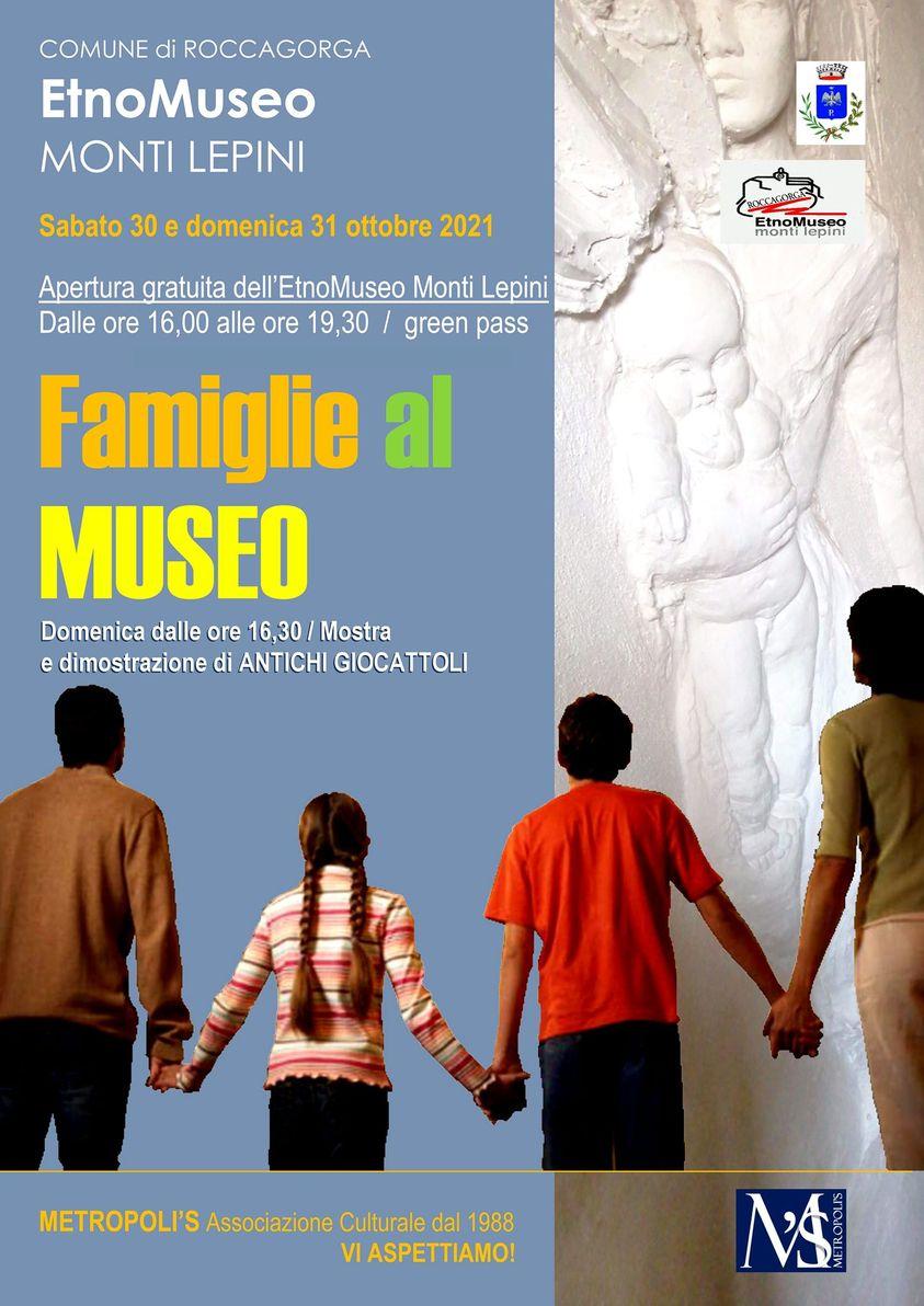 Roccagorga: Famiglie al Museo @ Roccagorga