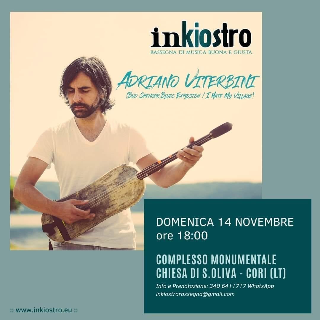 Cori: Inkiostro- Rassegna di Musica e Scrittura 2021 @ Complesso monumentale Chiesa S.Oliva