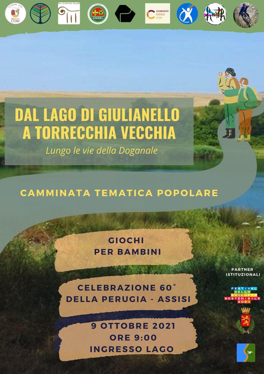 """Cori: """"Dal Lago di Giulianello a Torrecchia Vecchia"""" @ Lago di Giulianello"""