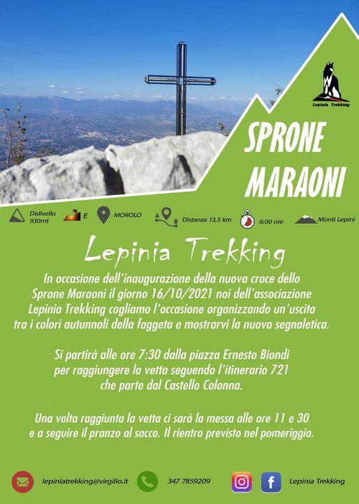 Lepinia Trekking: escursione sul Monte Morolo @ Piazza Ernesto Biondi
