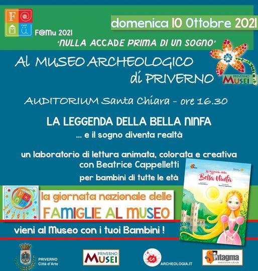 Museo Archeologico Priverno: Giornata Nazionale delle famiglie al museo @ Auditorium Santa Chiara
