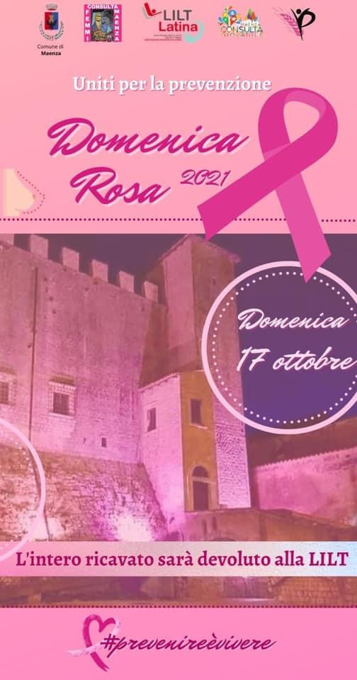 Maenza: Campagna Nastro Rosa @ Maenza