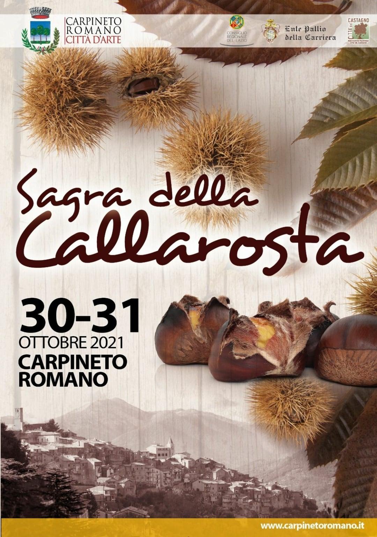 Carpineto: Sagra della Callarosta 2021 @ Carpineto Romano